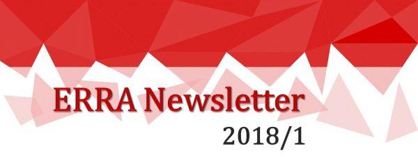ERRA Newsletter Spring 2018