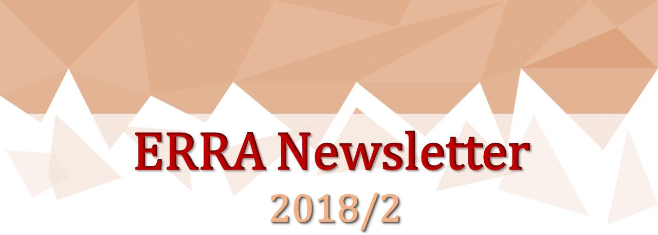ERRA Newsletter Autumn 2018