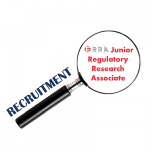 Recruitment - ERRA Junior Regulatory Research Associate
