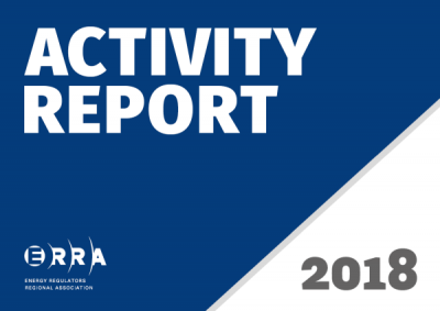 ERRA Activity Report 2018 cover