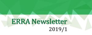 ERRA Newsletter Spring 2019