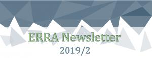ERRA Newsletter Autumn 2019