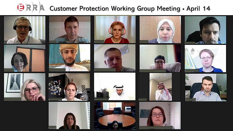 ERRA Customer Protection Working Group Meeting on April 14