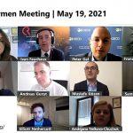 Speakers of the ERRA Chairmen Meeting on May 19, 2021